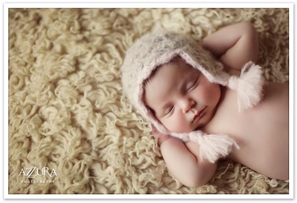 Ngắm không chớp mắt hình ảnh những em bé ngủ bên len 4