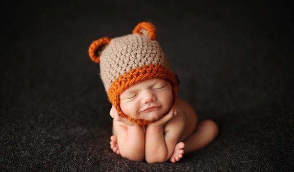 Ngắm không chớp mắt hình ảnh những em bé ngủ bên len 13