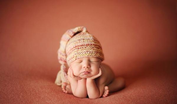 Ngắm không chớp mắt hình ảnh những em bé ngủ bên len 15