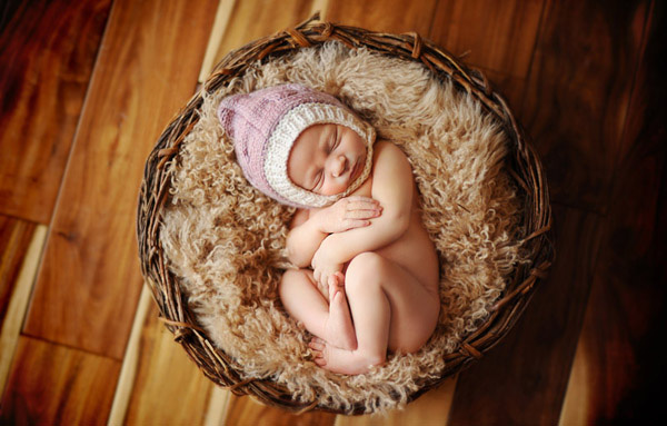 Ngắm không chớp mắt hình ảnh những em bé ngủ bên len 18