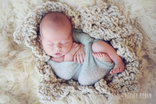 Ngắm không chớp mắt hình ảnh những em bé ngủ bên len 22