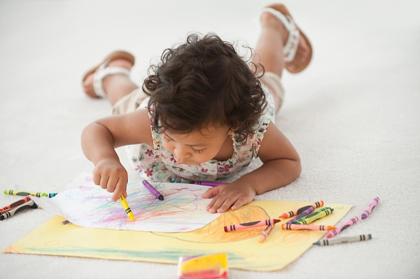 Muốn con thông minh, hãy cho trẻ học vẽ! 2