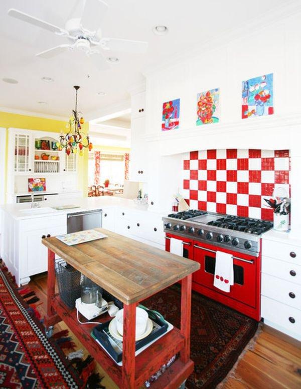 Bàn di động đa năng - nội thất tuyệt vời cho gian bếp nhỏ 5
