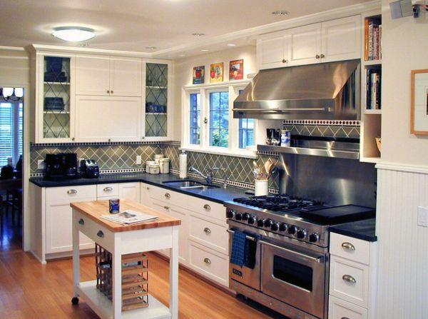Bàn di động đa năng - nội thất tuyệt vời cho gian bếp nhỏ 8