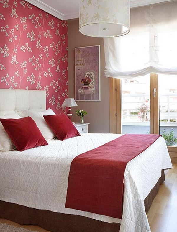 Gợi ý trang trí tường nhà với họa tiết hoa 7