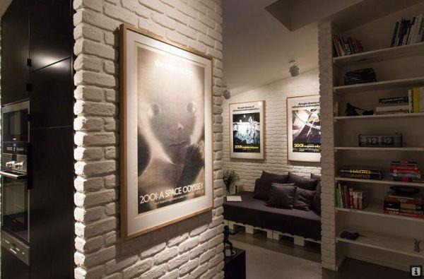 Ngắm căn hộ hiện đại với gam màu đen trắng 2