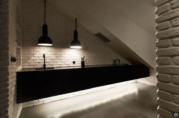 Ngắm căn hộ hiện đại với gam màu đen trắng 9