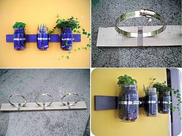 6 ý tưởng trang trí nhà với lọ thủy tinh cũ 5