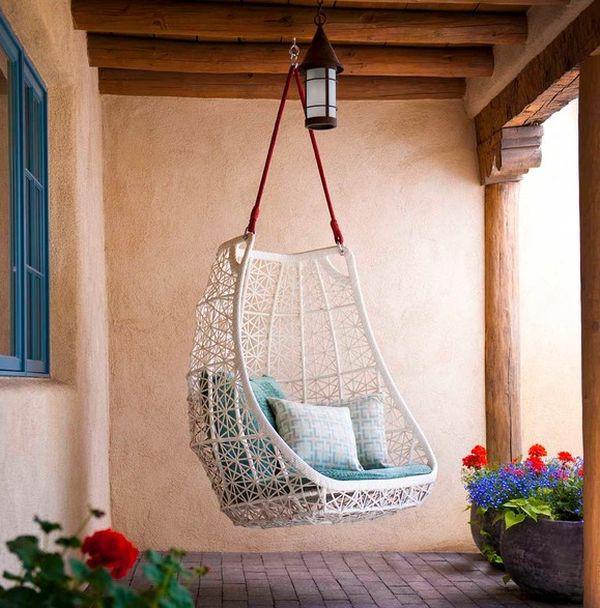 Ghế treo – món nội thất độc đáo giúp nhà thêm xinh 2