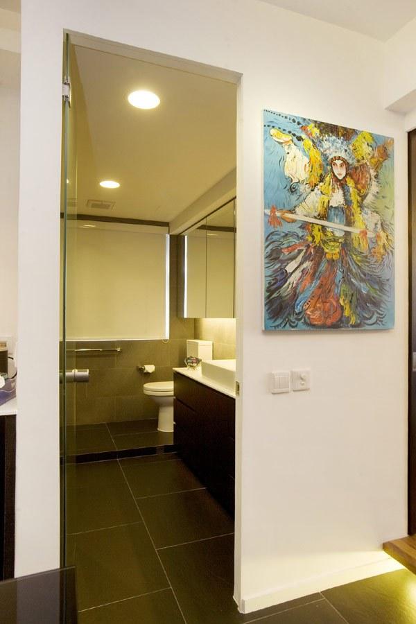 Ngắm căn hộ 48 mét vuông được bố trí nội thất cực thông minh 21
