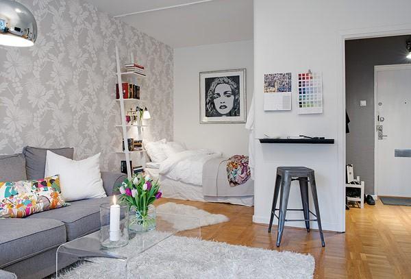 Ngắm căn hộ 37,5 mét vuông được thiết kế năng động, hiện đại 7