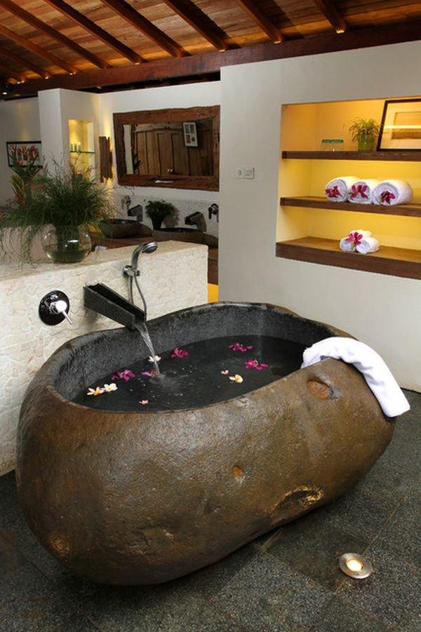 Phòng tắm sáng bừng với 5 mẫu bồn tắm độc đáo 3