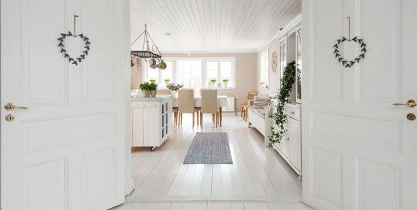 Ngắm ngôi nhà lãng mạn với tông màu trắng - xanh 7