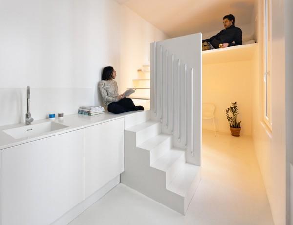 Căn hộ 20m² tuyệt đẹp nhờ phong cách tối giản 6