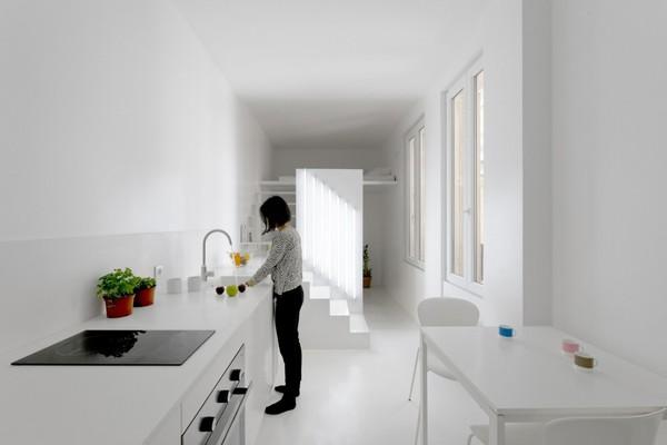 Căn hộ 20m² tuyệt đẹp nhờ phong cách tối giản 9