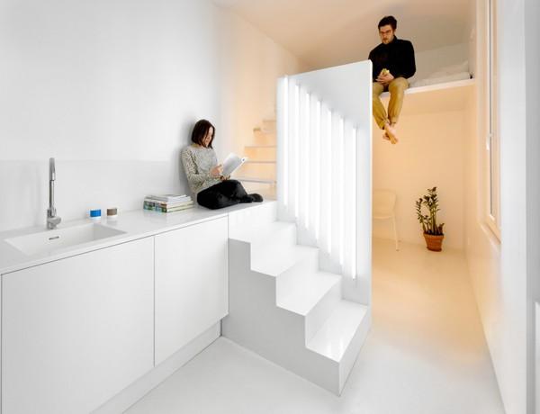 Căn hộ 20m² tuyệt đẹp nhờ phong cách tối giản 7