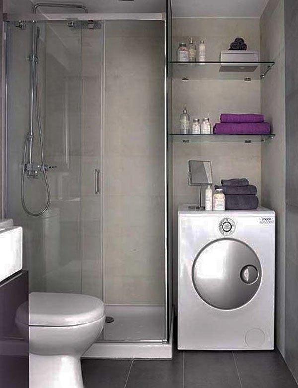 Mẹo bài trí đẹp và độc cho phòng tắm nhỏ  6