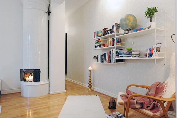 Căn hộ 56m² hai phòng ngủ tuyệt đẹp nhờ khéo bài trí 6