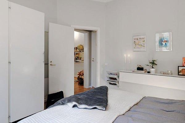 Căn hộ 56m² hai phòng ngủ tuyệt đẹp nhờ khéo bài trí 12
