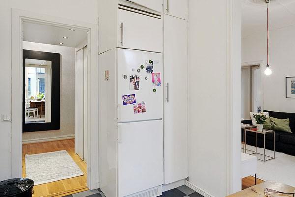 Căn hộ 56m² hai phòng ngủ tuyệt đẹp nhờ khéo bài trí 9