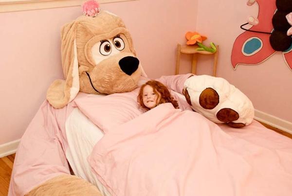 Giường thú bông, món nội thất đáng mua cho bé 1