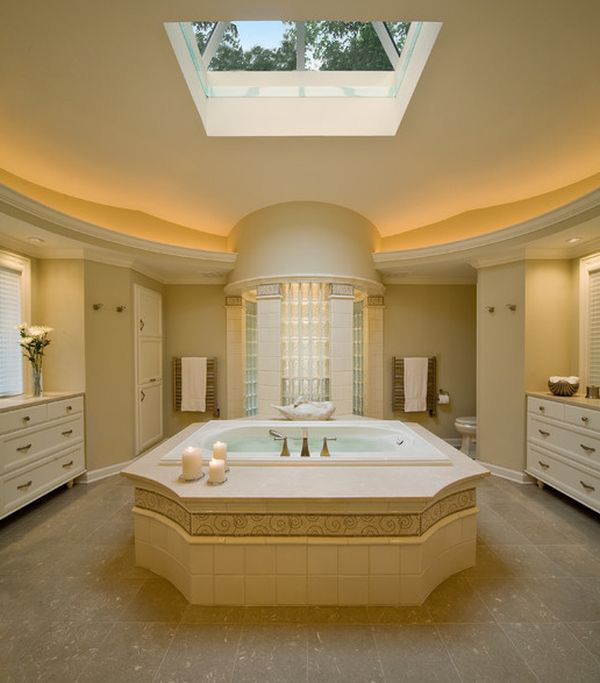 Ngắm những thiết kế phòng tắm xa hoa bậc nhất 5