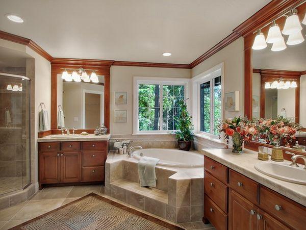 Ngắm những thiết kế phòng tắm xa hoa bậc nhất 3