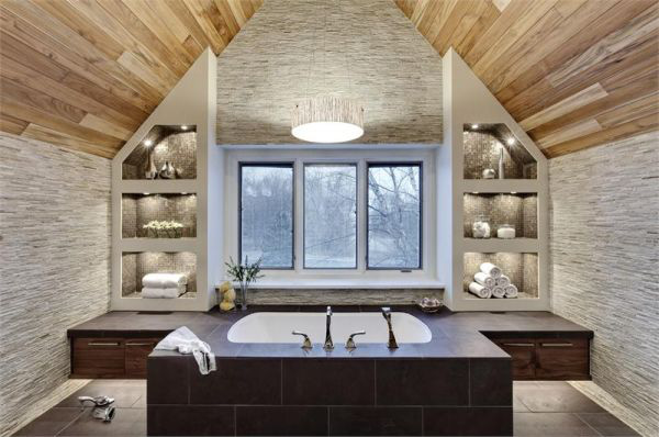 Ngắm những thiết kế phòng tắm xa hoa bậc nhất 1