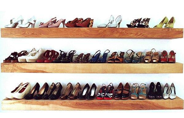 Giải pháp lưu trữ giày dép khoa học trong nhà nhỏ 1