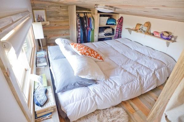 Thích thú với căn nhà 14,4m² bằng gỗ siêu tiện nghi 11