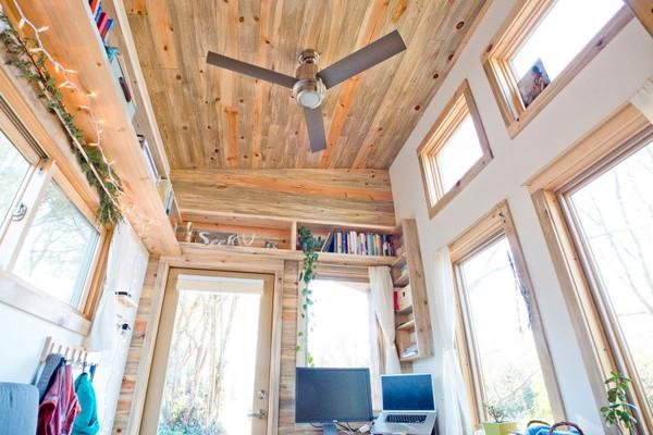 Thích thú với căn nhà 14,4m² bằng gỗ siêu tiện nghi 3