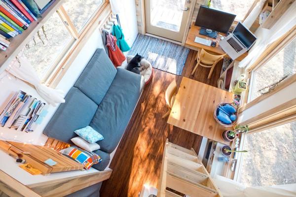 Thích thú với căn nhà 14,4m² bằng gỗ siêu tiện nghi 4