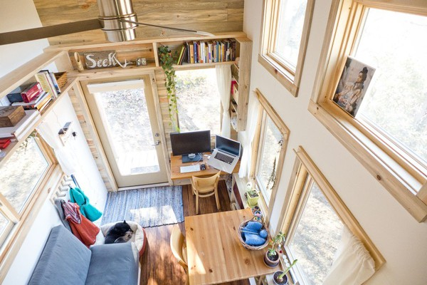 Thích thú với căn nhà 14,4m² bằng gỗ siêu tiện nghi 5