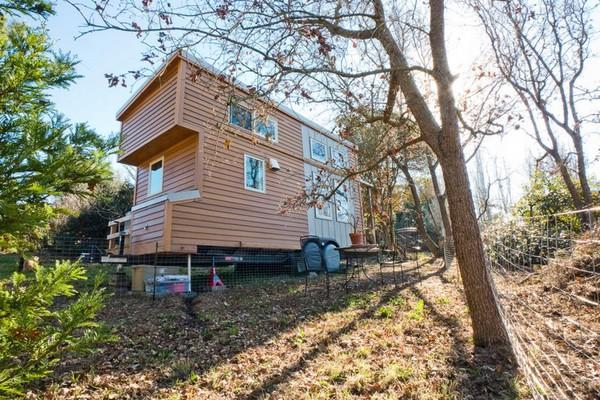 Thích thú với căn nhà 14,4m² bằng gỗ siêu tiện nghi 2