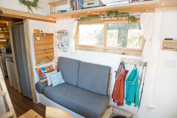Thích thú với căn nhà 14,4m² bằng gỗ siêu tiện nghi 6
