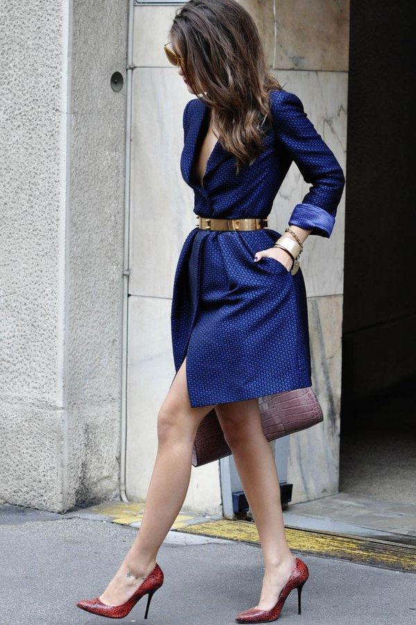 """Coat dress - Món đồ """"2 trong 1"""" cho quý cô hạt tiêu 3"""