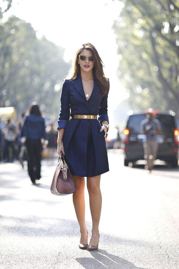 """Coat dress - Món đồ """"2 trong 1"""" cho quý cô hạt tiêu 4"""