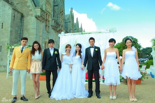 Lâm Tâm Như xinh lung linh trong đám cưới tập thể 2