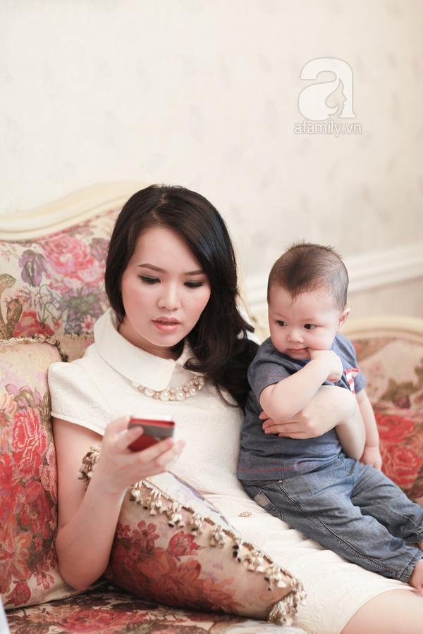 Á hậu Thụy Vân: Giảm 10kg sau sinh chỉ trong vòng một tháng rưỡi 4
