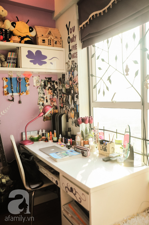 Căn hộ trang nhã của gia đình hot girl trong sáng Quỳnh Anh Shyn 17