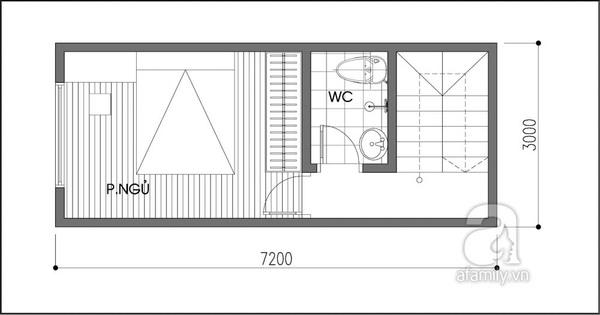"""Tư vấn thiết kế nhà 21m² """"đẹp như mơ"""" 2"""