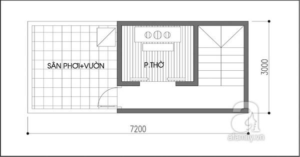 """Tư vấn thiết kế nhà 21m² """"đẹp như mơ"""" 3"""