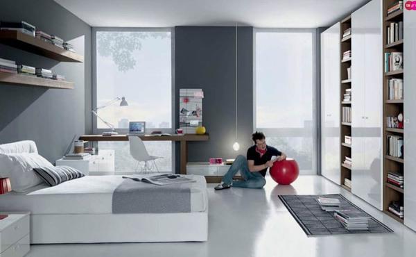 Tư vấn 2 phương án bố trí nội thất cho phòng 20m² đa năng 4