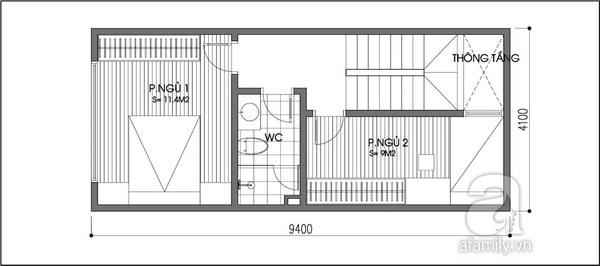 Tư vấn cải tạo nhà 39m² đơn giản mà hiện đại 2