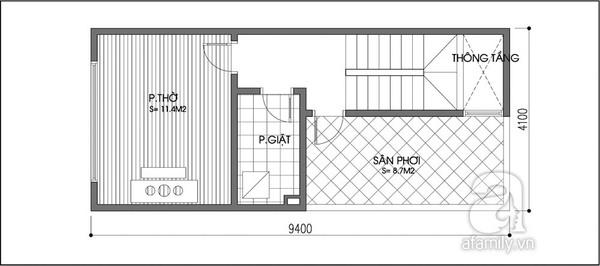 Tư vấn cải tạo nhà 39m² đơn giản mà hiện đại 3