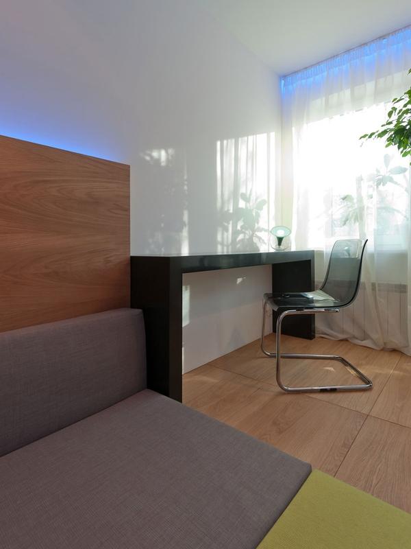 Tư vấn bố trí nội thất phòng ngủ 14m² trẻ trung 7