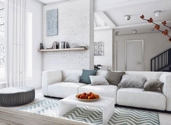 """Tư vấn bố trí nội thất giúp """"hút sáng"""" cho căn hộ 53m²  4"""