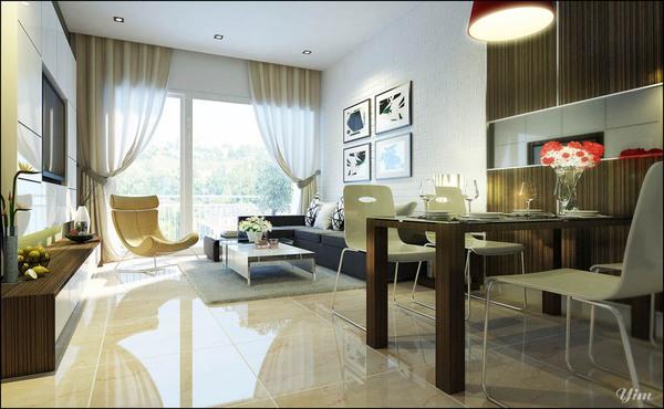 Tư vấn cải tạo và bố trí nội thất cho căn hộ 90m²  3