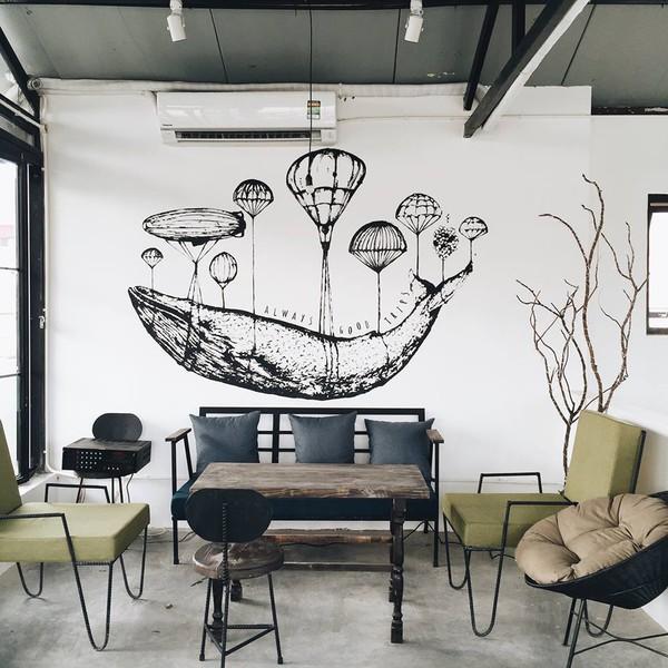 cabine - 11 quán cà phê siêu đẹp, siêu chất mở cửa xuyên Tết ở Hà Nội