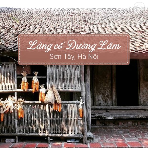 làng cổ đường lâm